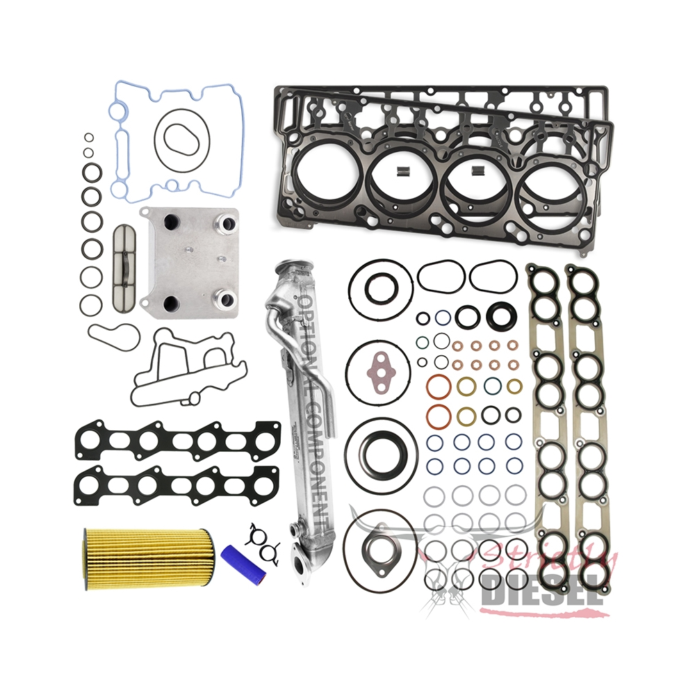Strictly Diesel 60l Master Kit 1999 Ford F 250 Fuel Filter Gasket