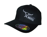 Black Curved Bill Flexfit Hat