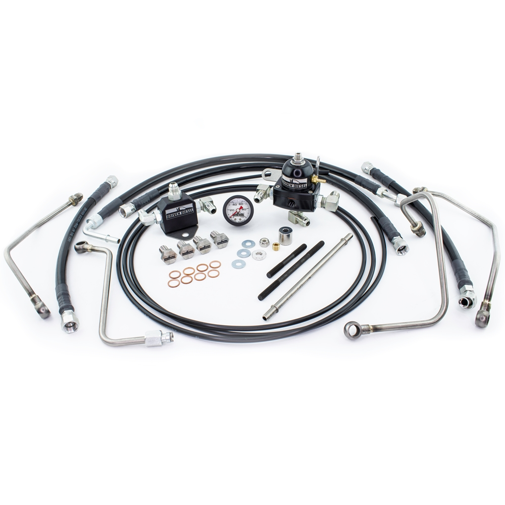 6 0l fuel bowl delete regulated return - now shipping