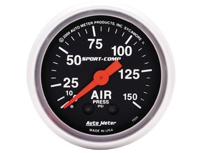 Sport-Comp 150psi Air Press Gauge (3320)