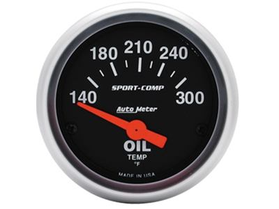 Sport-Comp 300°F Oil Temp Gauge (3348)