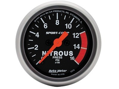 Sport-Comp Nitrous Press Gauge (3374)