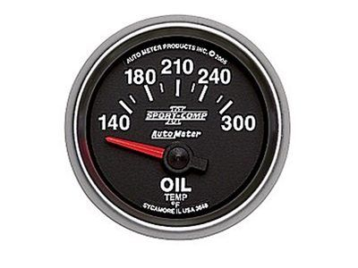 Sport-Comp II 300°F Oil Temp Gauge (3648)