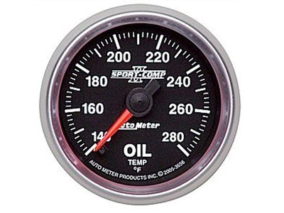 Sport-Comp II 280°F Oil Temp Gauge (3656)