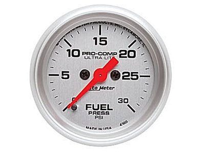 Ultra-Lite 30psi Fuel Press Gauge (4360)