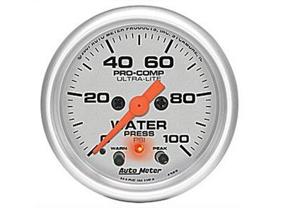Ultra-Lite 100psi Oil Press Gauge (4368)
