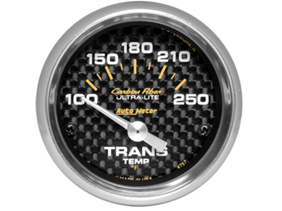 Carbon Fiber Transmission Temp Gauge (4757)