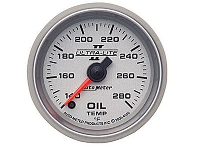 Ultra-Lite II 280°F Oil Temp Gauge (4956)