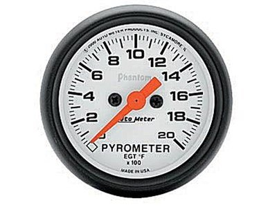 Phantom 2000° Pyrometer Gauge (5745)