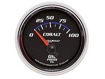 Cobalt 100psi Oil Press Gauge (6127)