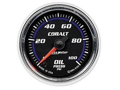 Cobalt 100psi Oil Press Gauge (6153)