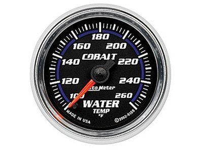 Cobalt Water Temp Gauge (6155)