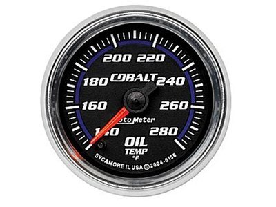 Cobalt 280°F Oil Temp Gauge (6156)