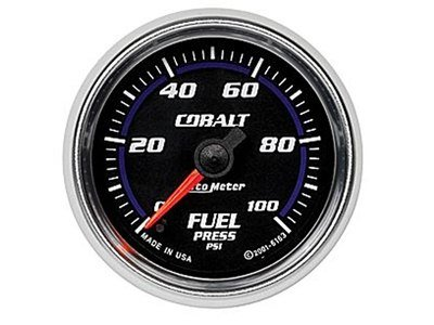Cobalt 100psi Fuel Press Gauge (6163)