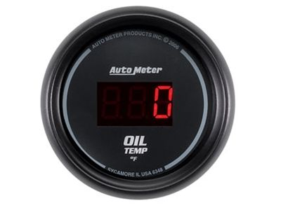 Digital 340°F Oil Temp Gauge (6348)