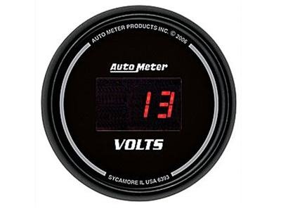 Digital Voltmeter Gauge (6393)