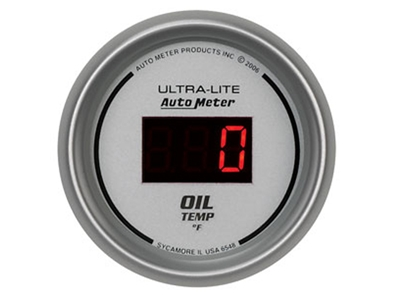 Digital 340°F Oil Temp Gauge (6548)