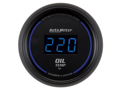Digital 340°F Oil Temp Gauge (6948)