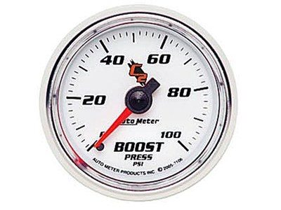 C2 100psi Boost Gauge (7106)