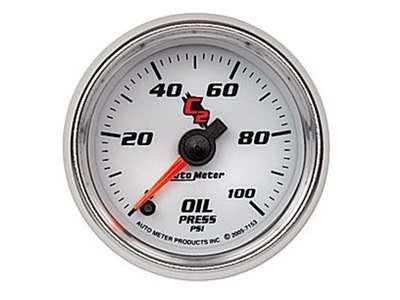 C2 100psi Oil Press Gauge (7153)