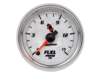 C2 15psi Fuel Press Gauge (7162)
