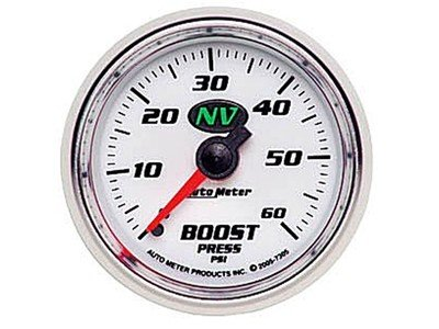 NV 60psi Boost Gauge (7305)