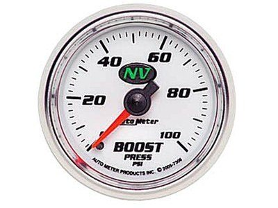NV 100psi Boost Gauge (7306)