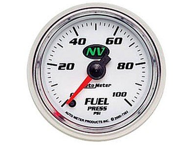 NV 100psi Fuel Press Gauge (7363)