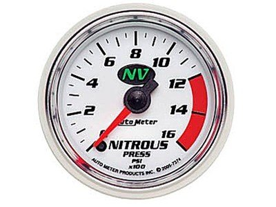 NV Nitrous Press Gauge (7374)
