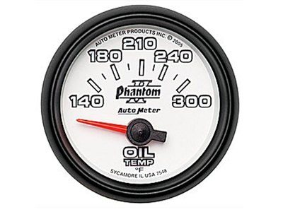 Phantom II 300°F Oil Temp Gauge (7548)