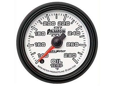 Phantom II 280°F Oil Temp Gauge (7556)