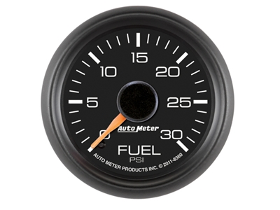 GM Match 30psi Fuel Press Gauge (8360)