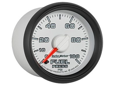 Dodge Match 100psi Fuel Press Gauge (8563)