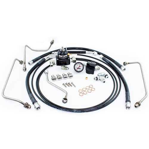 Driven Diesel 6.0L Standard Regulated Return Fuel System Kit