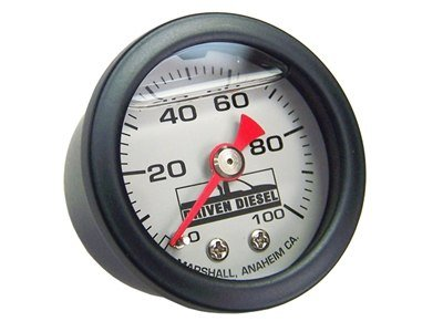 "1.5"" 100psi Liquid Filled Pressure Gauge"