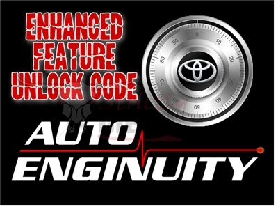 AutoEnginuity TOYOTA Enhanced Interface