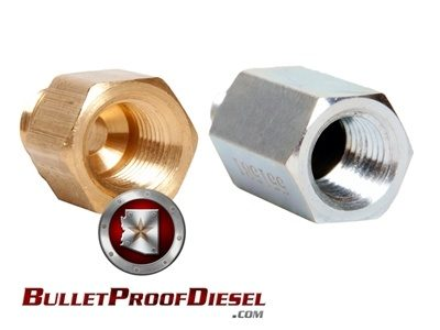 Bulletproof Diesel High Pressure Oil Rail Adapters - (6000067)