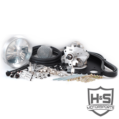 H&S Motorsports 6.7 Powerstroke Dual High Pressure Pump Kit W/ CP3