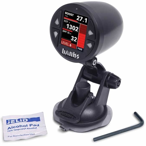 iDash Single Gauge Pod Suction Mount