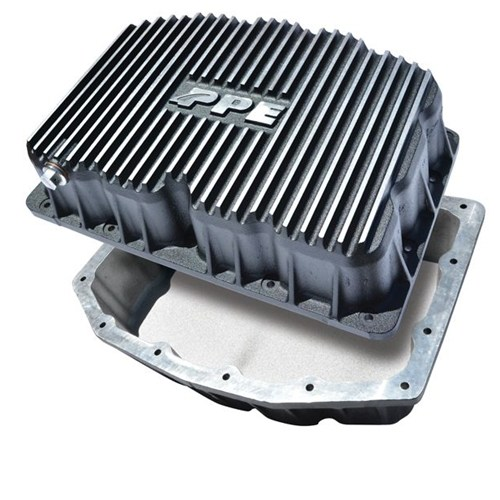 PPE Ford Engine Oil Pan 6.7L - Brushed (314052110)