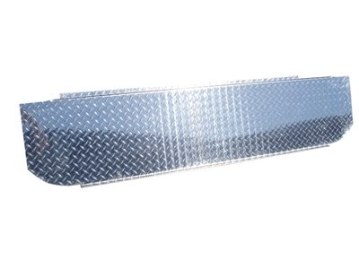 "MBRP Checker Plate ""T"" Pipe Cover (BB0003)"