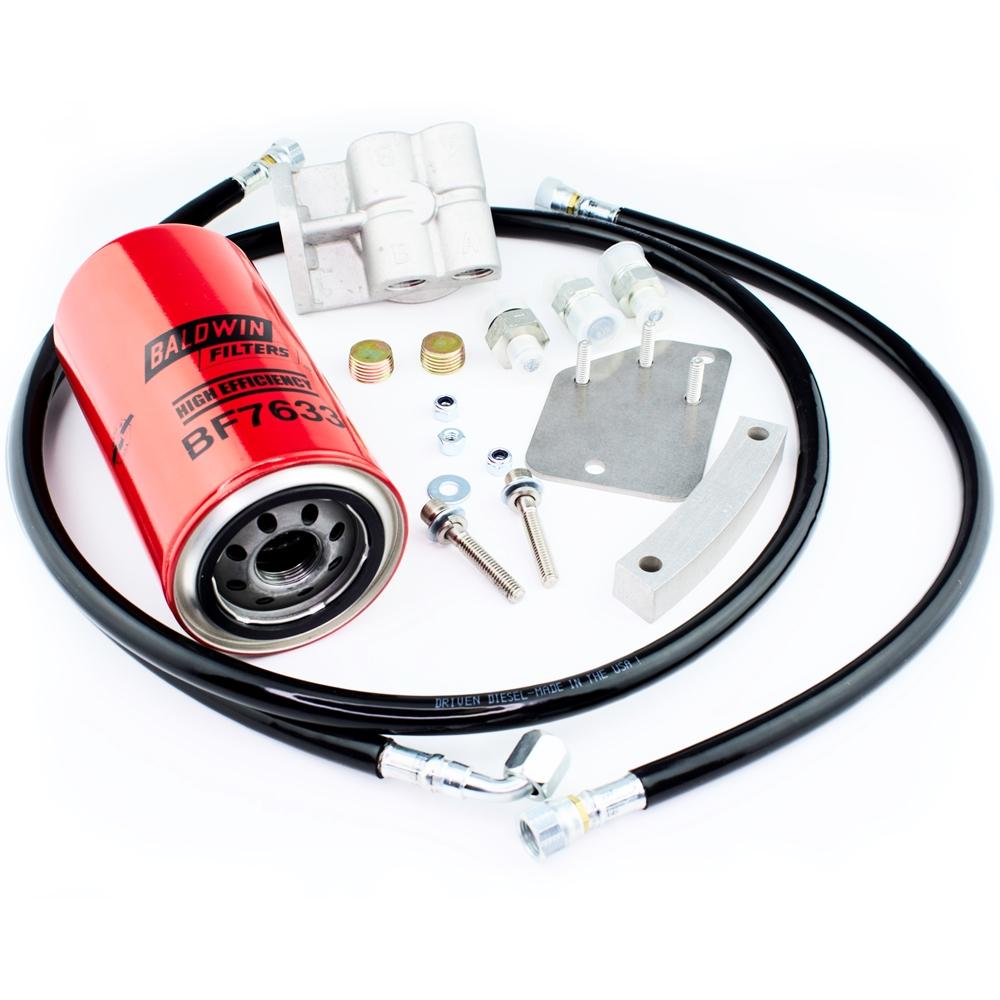 strictly diesel - driven diesel post pump fuel filter kit  strictly diesel